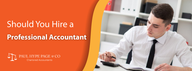 Hire a Professional Accountant