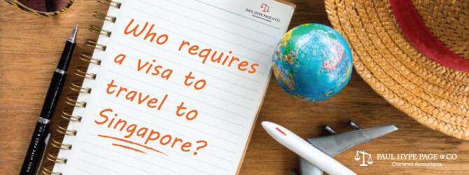 Who need visa to travel to Singapore