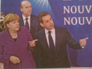 Merkel & Sarkozy 3. November 2011