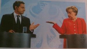 Sarkozy & Merkel New York Times 18 Juni 2011