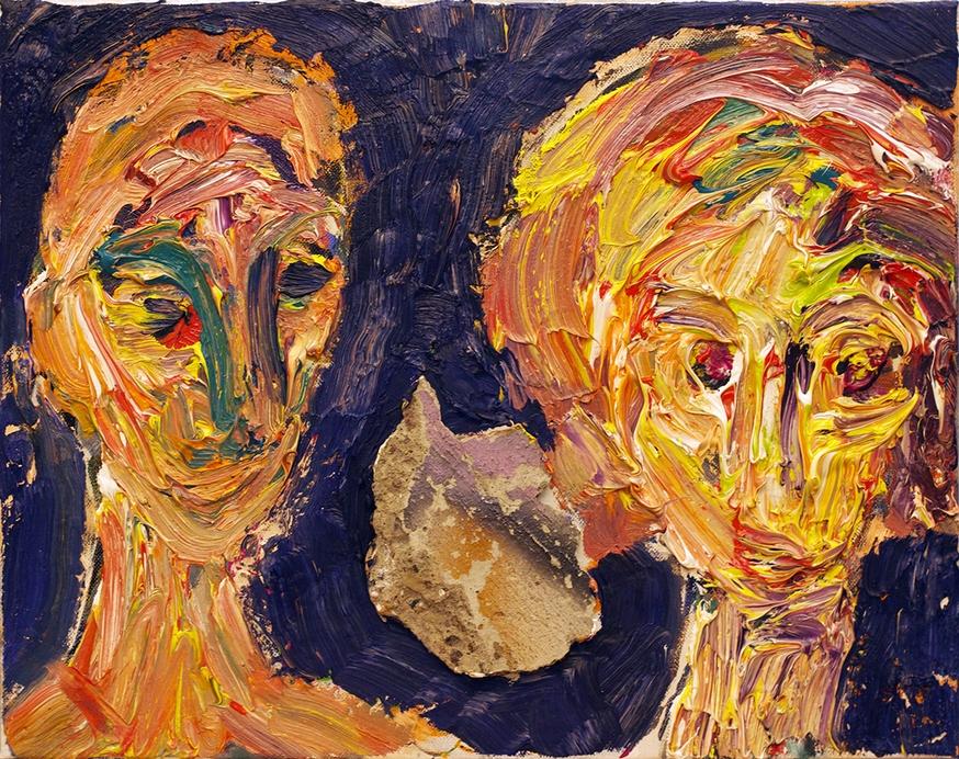Liebespaar und Komet