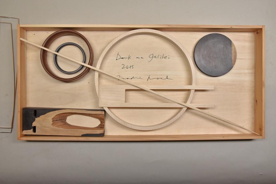 Dank an Galilei im Kasten