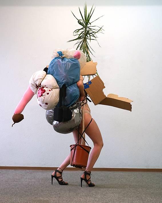 Highheels Skulptur
