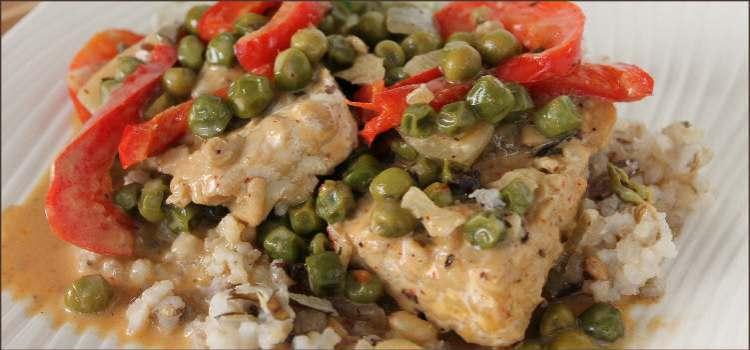 Vegan Thai Curry Fish/Tempeh