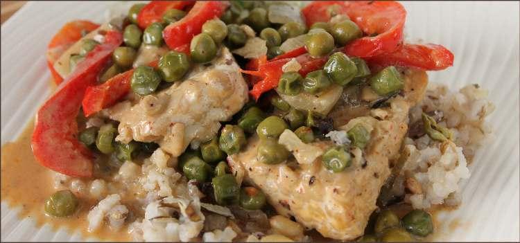 thai curry tempeh