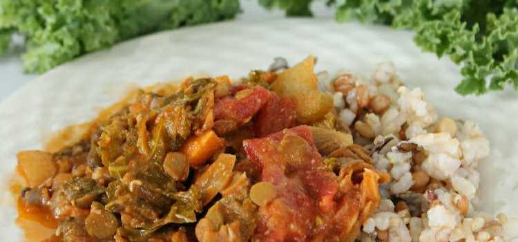 Kale & Lentil Curry