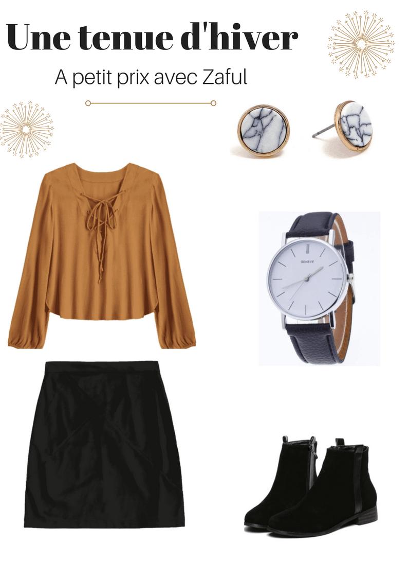 Une tenue d'hiver