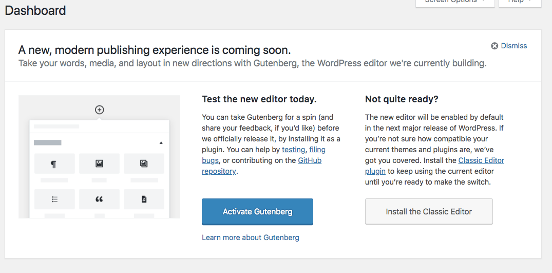 What Does It Take To Get Into New >> Should You Try The New Editor On Your Wordpress Site