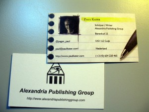 APG Business card