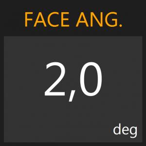 faceangle