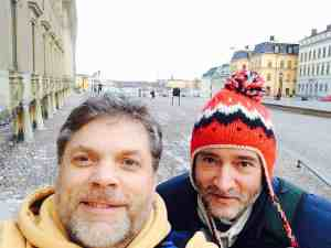 Tim and Paul in Stockholm