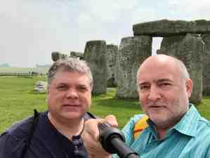 Tim and Paul at Stonehenge