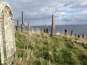Cemetery near Berriedale, Scotland
