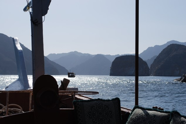 The mix of hills and water make this area known as the Arabian fjords