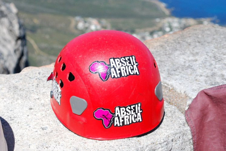 Abseil Africa helmet