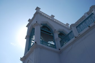 Ornate balcony in Muscat