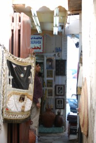 Omani art for sale in Muscat baazar