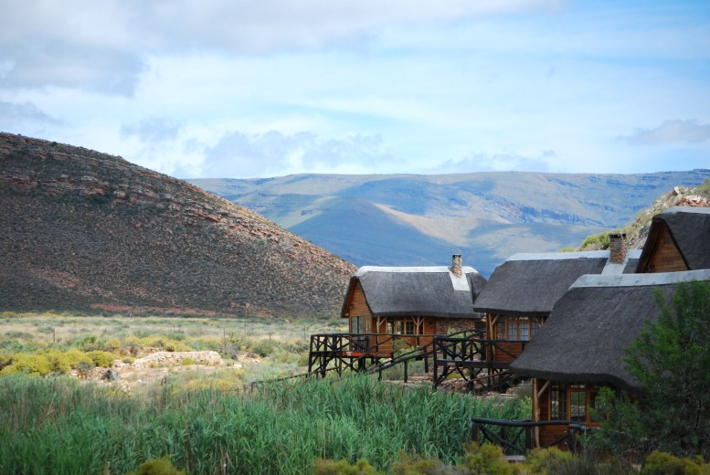 The luxury chalets at Aquila