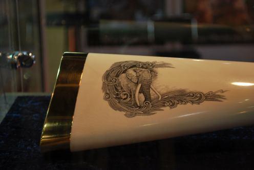 Elephant gun butt