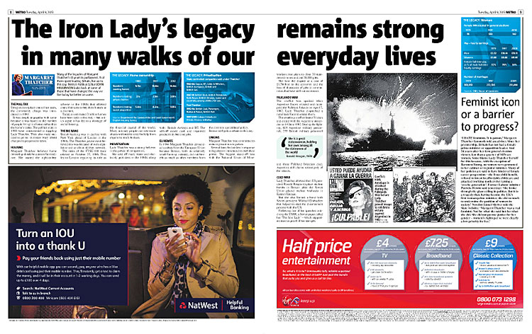 The Iron Lady's Legacy: Margaret Thatcher funeral spread