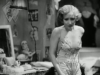 "Bessie Love as Hank Mahoney in ""The Broadway Melody,"" 1929."