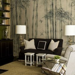 Bamboo in Mist roomset