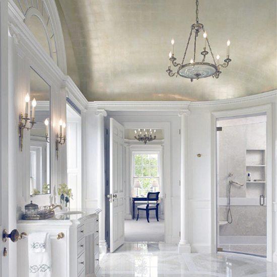 Metal white room