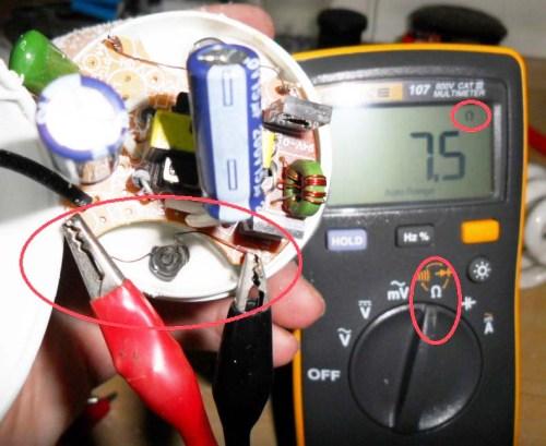 Medindo o filamento