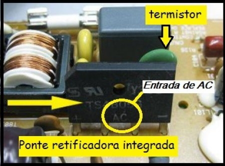 Fig.10 - Ponte retificadora integrada