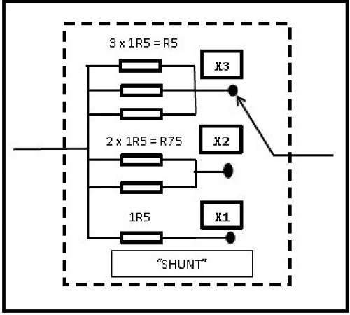 Fig. 9 - Shunt de corrente