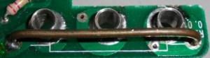 Fig.4 - Shunt de um multímetro digital