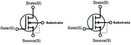 Fig.2 - MOSFET Modo enhancement