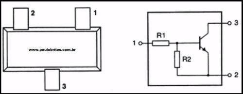 Configuração de um transistor digital