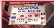 Comida a kilo