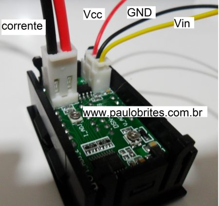Fig.3- Conectores do YB27 VA