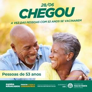 Read more about the article Vacinação das pessoas com 53 anos