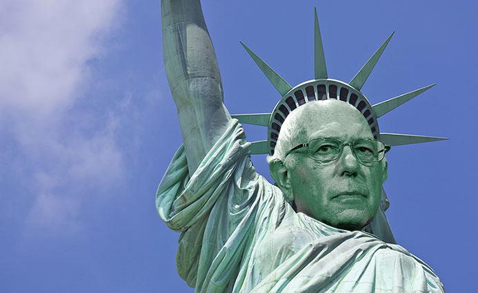 Statue of Libernie