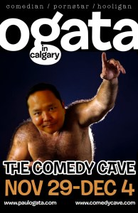 Paul Ogata in Calgary @ The Comedy Cave | Calgary | Alberta | Canada