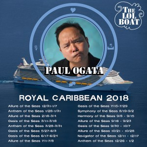 Paul Ogata at Sea @ Royal Caribbean Allure of the Seas | Hollywood | Florida | United States