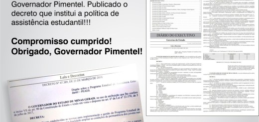 Governo de Minas Gerais institui política de Assistência Estudantil na Unimontes e na UEMG