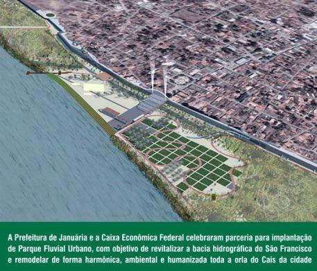 Parque Fluvial Urbano em Januária _ Deputado Paulo Guedes