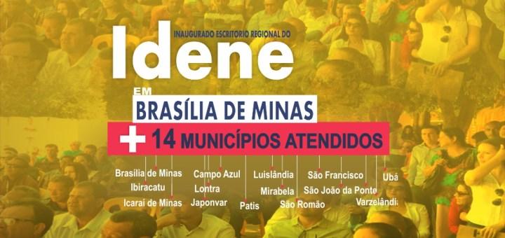 governo inaugura escritório regional do Idene em Brasília de Minas