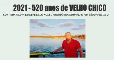 CONTINUA A LUTA EM DEFESA DO NOSSO PATRIMÔNIO NATURAL: O RIO SÃO FRANCISCO!