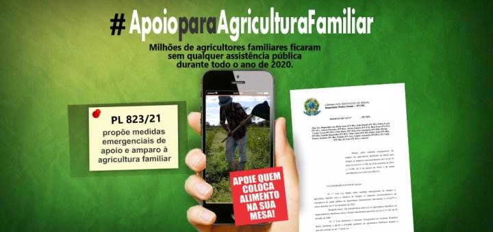 Apoio emergencial para agricultura familiar precisa ser aprovado!
