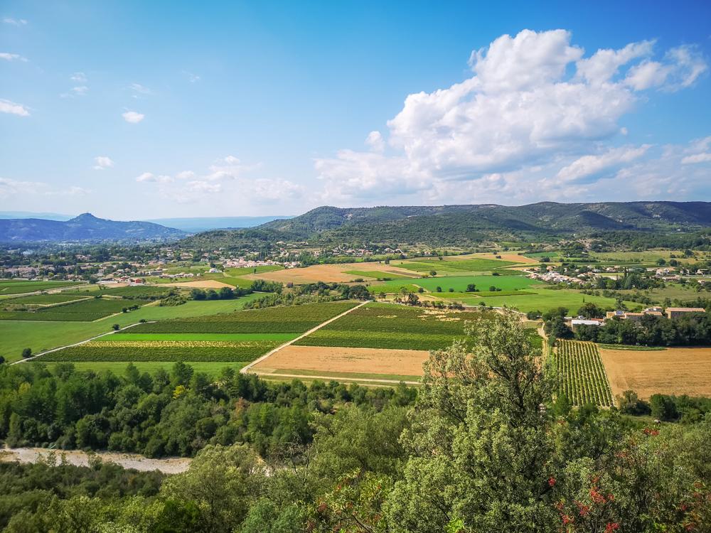 Downhill to Vallon-Pont-d'Arc
