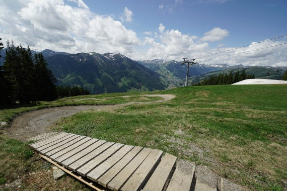 panorama trail saalbach