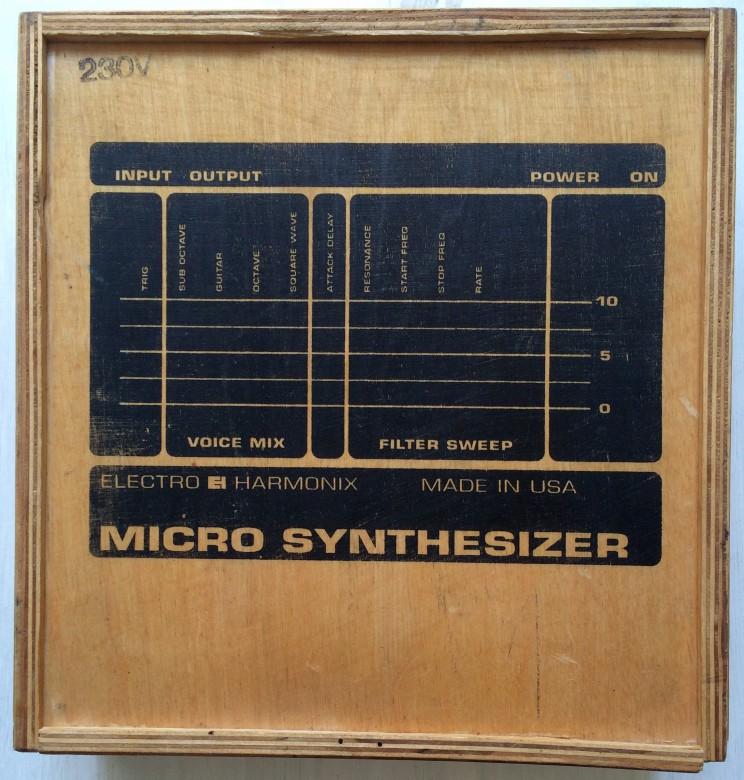 Micro Synthesizer Reissue Wood Box