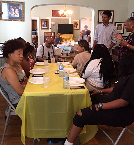 The Robeson House celebrates its student volunteers.