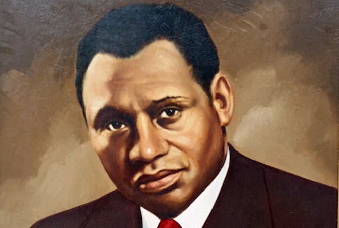 """Paul Robeson: Up Close and Personal"" Exhibit"