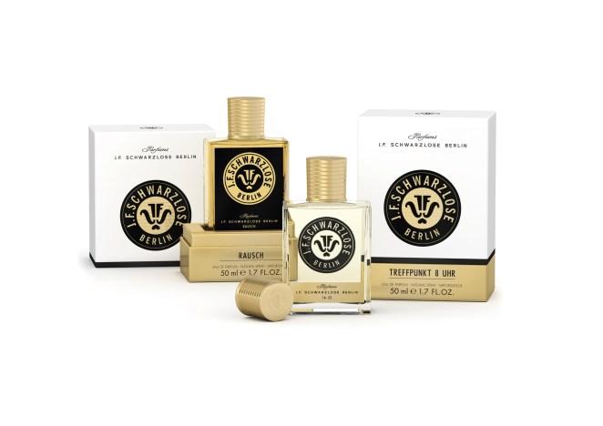 Bottles J.F. Schwarzlose Parfums